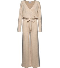 angela jumpsuit beige line of oslo
