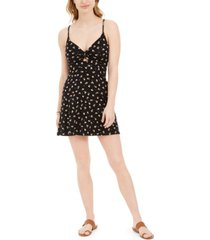 billabong love me knot printed babydoll dress