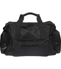 dsquared2 branded duffle bag