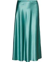 alsop skirt 9697 knälång kjol grön samsøe samsøe