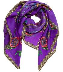 foulard donna in seta corona