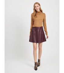knit rollneck top