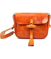 old trend sierra leather crossbody bag