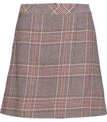 sari skirt so19 knälång kjol rosa gestuz