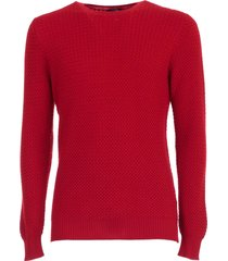 barba napoli sweater small w/braid