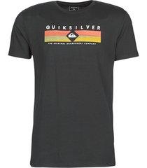 t-shirt korte mouw quiksilver distant fortune