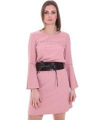 korte jurk nenette 26ll-ab15cr