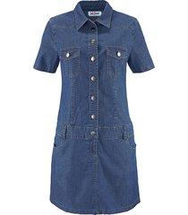 abito in jeans elasticizzato (blu) - john baner jeanswear