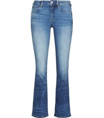 bootcut jeans g-star raw 3301 mid skinny bootcut wmn