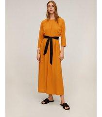 midi-jurk met strik