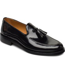 almon slip-on shoes loafers låga skor svart gant