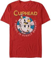 fifth sun men's mugman poker chip brewing brawl short sleeve t- shirt