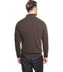 sweter nagore troyer brąz