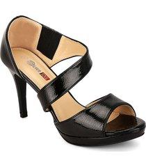 zapato formal dama negro silver soul sd45117ne