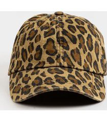 madison leopard baseball hat - leopard