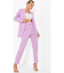 blazer en broek set, lilac