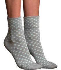 lemon women's teeny tiny silk anklet socks