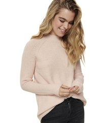 sweater only rosa - calce holgado