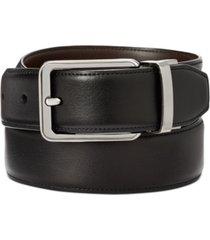 closeout! perry ellis men's annable reversible leather dress belt