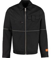 heron preston multi-pocket jacket