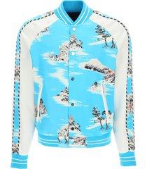 amiri hawaiian bomber jacket