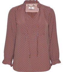 blouse blouse lange mouwen bruin noa noa