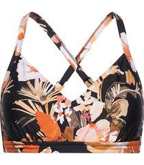 bora bora flora dd cup bralette bikinitop multi/mönstrad seafolly