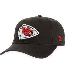 new era cap core classic kansas city chiefs baseball cap in black at nordstrom