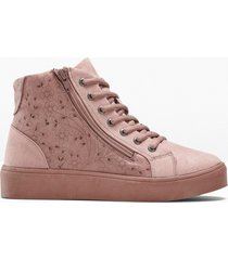 sneaker alte con plateau (rosa) - bpc selection