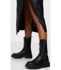 duffy high chelsea boots flat boots