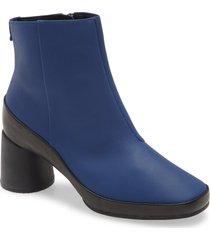 women's camper upright column heel bootie, size 11us - blue
