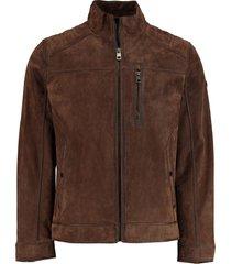 dnr leather jack bruin regular fit 42759 396/46
