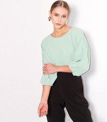 camiseta para mujer color-verde-talla-s