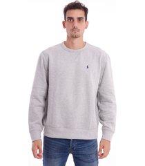 gray ralph lauren sweatshirt