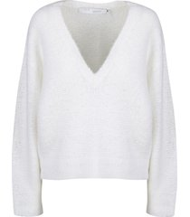 iro over crop sweater
