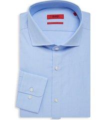 meli pinstriped sharp-fit dress shirt