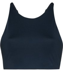 girlfriend collective top esportivo topanga - azul
