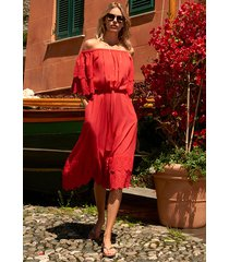 melissa odabash dee dress red