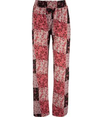 pantaloni di jersey in mix di fantasie (rosa) - bpc bonprix collection