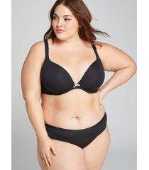 lane bryant women's cotton hipster panty 22/24 black