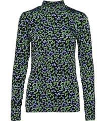 essy print top blus långärmad multi/mönstrad modström