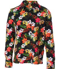 mooi vrolijk blouse flashy flowers