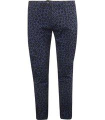 department 5 leopard print trousers