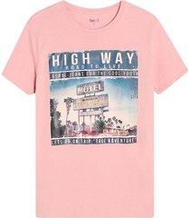 camiseta hombre high way