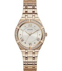 reloj guess mujer cosmo/gw0033l3 - oro rosa