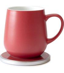 ohom ui mug & warmer set, size one size - red