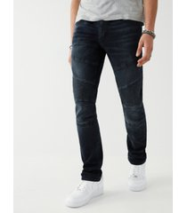 true religion men's rocco moto skinny fit jeans