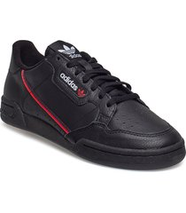continental 80 låga sneakers svart adidas originals