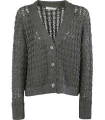 fabiana filippi v-neck knitted cardigan