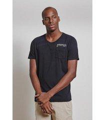 t-shirt 88mm indigo masculina - masculino